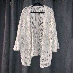 aerie Sweaters - Aerie oversized open weave knit cardigan